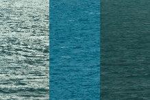 Drie verschillende tinten water tegelijkertijd in hetzelfde zoekveld (foto Ernst Schrijver)