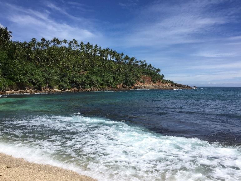 Het strand bij Mirissa