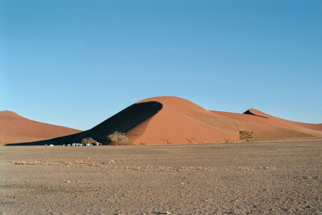 De Namib (Foto M. van Dam)