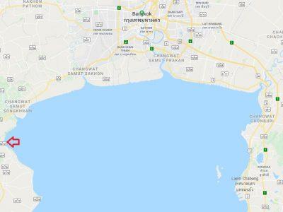 Noordelijke deel Golf van Thailand