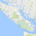 """Vancouver Island met in het Noorden """"Telegraph cove"""""""